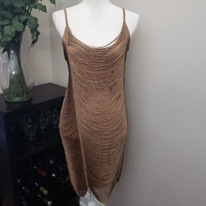 NWT H&M Vintage Flapper Lined Bodycon Dress